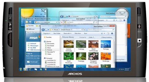 Archos 9 PCtablet hits shelves today