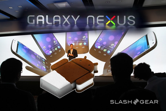 Android 4.0 Ice Cream Sandwich / Galaxy Nexus Launch Wrap-up [Videos]