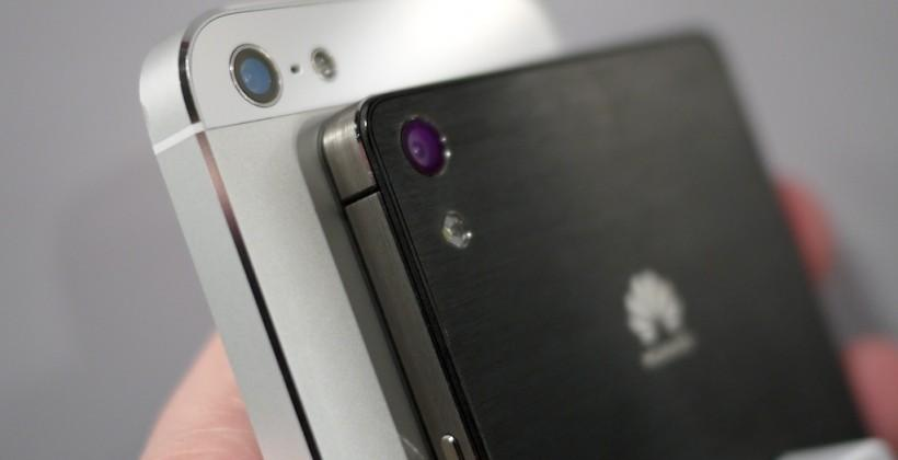 Huawei Ascend P6 vs iPhone 5: do similarities go just skin deep?