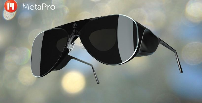 MetaPro AR glasses pack Iron Man tech into Aviator style