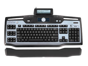Logitech Keyboard with LCD Screen