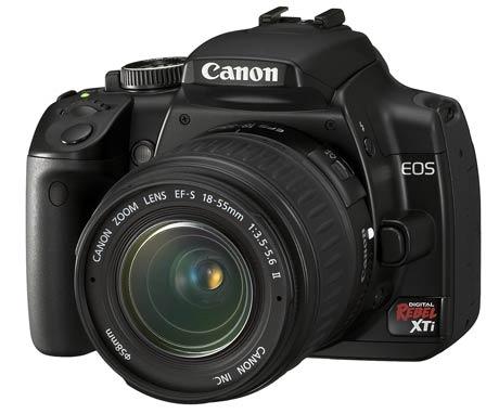 Canon's New EOS Digital Rebel XTi SLR Official Announcement
