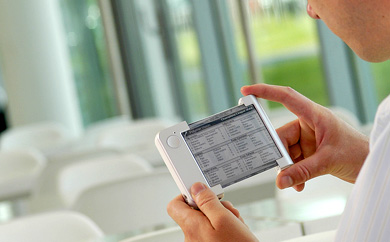 Philips READUS Prototype Flexible E-Paper Reader