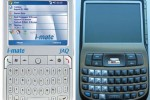 i-Mate JAQ and HTC Excalibur Windows Mobile Smartphone Side by Side