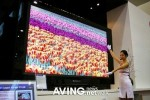 World's largest 100-inch TFT-LCD Display