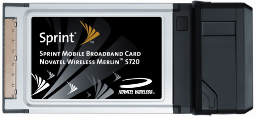 SPRINT LAUNCHES FIRST EV-DO REVISION A-CAPABLE MOBILE BROADBAND CARD IN THE NATION
