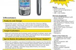Sprint Treo 700wx in the wild and spec sheet leaked
