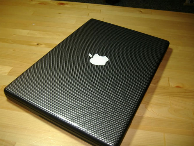 Carbon Fiber Graphix For Your MacBook