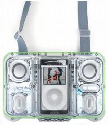 Atlantic's EGO is a waterproof iPod speaker