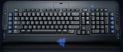 Tarantula, the keyboard for gamers