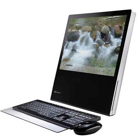 Gateway One – Sleek All-in-one desktop