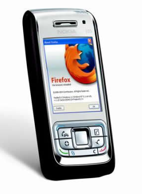 Firefox for your mobile phone – renders full web