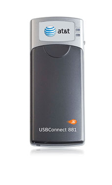 USBConnect 881 for HSUPA network from AT&T