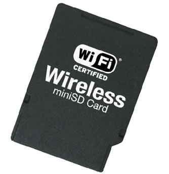 Planex GW-MS54G MiniSD WiFi Card – adds WiFi connectivity to your smartphone