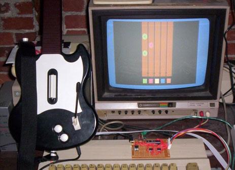 Guitar Hero the Commodore 64 way