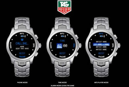 Tag Heuer announces mobile phone in 2008