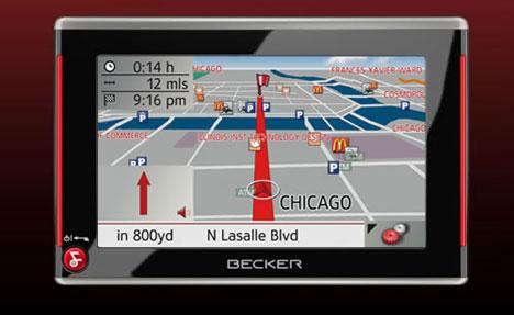 CES 2008: Becker Traffic Assist 7827