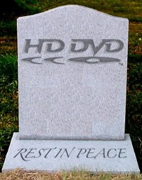 Toshiba officially kills HD DVD, may you rest in peace