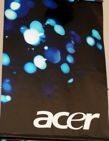 "Acer ""blue"" live coverage in NYC"