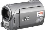 JVC Everio GZ-MS100 camcorder with YouTube mode