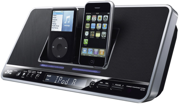 JVC NX-PN7 – Dual Docks for your iPod and iPhone