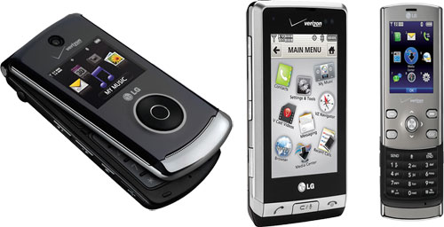 Verizon announces three new LG devices