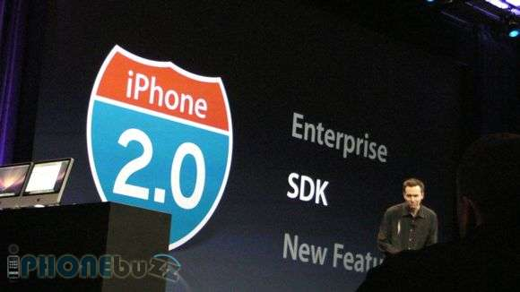 WWDC 2008 – iPhone 2.0 firmware discussed