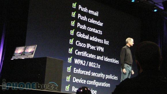 WWDC 2008 – Steve talks about iPhone Enterprise
