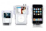 iPod Swing Speakers attach like a case
