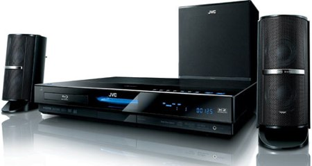 JVC NX-BD3 is all-in-one Blu-ray system