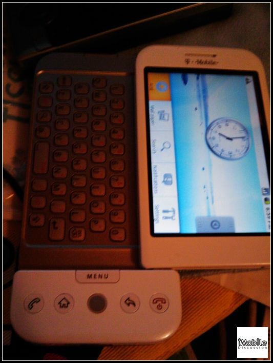 Pictures of the first Android phone, HTC Dream leaked