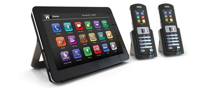 OpenPeak's OpenFrame is phone, home information center