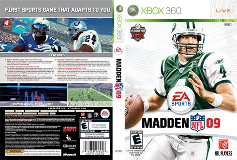 EA offers new Madden 09 covers