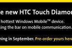 Sprint HTC Touch Diamond coming in September
