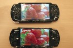 PSP-3000 vs. PSP-2000 screen comparison