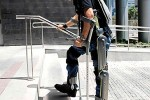 ReWalk uses robotics to help paraplegics walk again