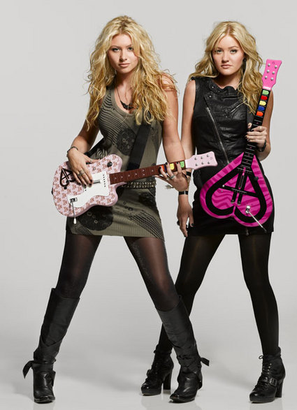 Aly and AJ to release guitar controllers