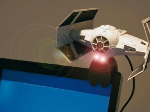 Imperial TIE Fighter Webcam; fun but not for conferencing