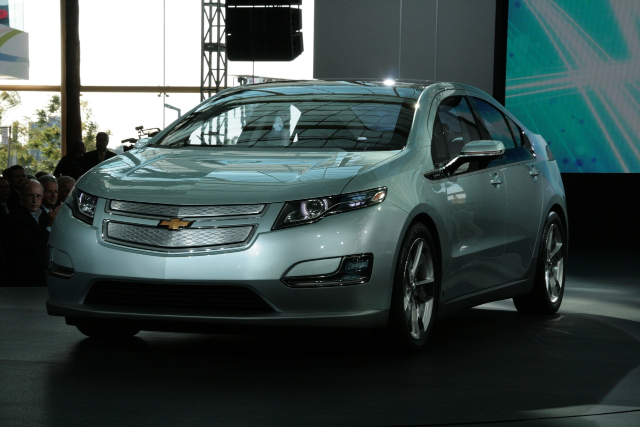 Chevy Volt is finally revealed
