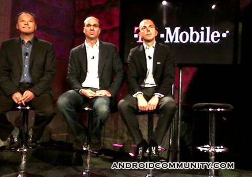 T-Mobile G1, first Android-powered handset announced; platform to be flexible