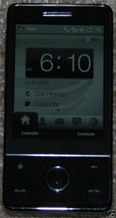 HTC Touch Pro is AT&T Fuze