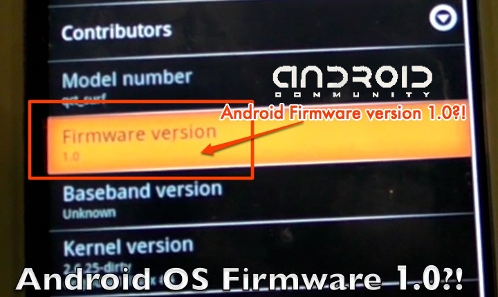 Android Firmware 1.0 apparently running on Qualcomm handset: Video Demos