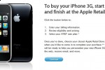 Apple iPhone 3G online purchase system launched: paperwork online, collect in-store