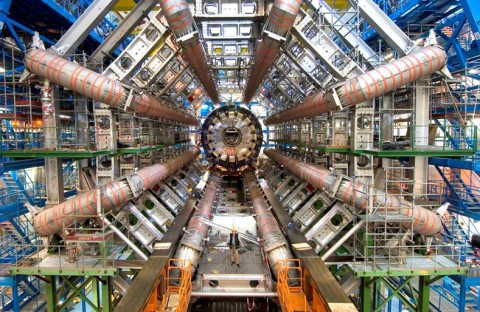 Large Hadron Collider smashes its first protons