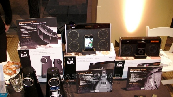 Altec Lansing inMotion MAX and GLOW; Expressionist BASS 2.2 desktop speakers