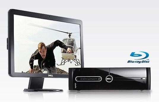 Dell Studio and Studio Slim Desktop PCs with optional Blu-ray