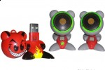 U.B. Funkeys USB Drive and Speakers a Target exclusive