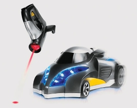 Infrared Tracker Remote Control Car is guided by light