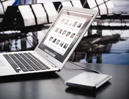 Iomega eGo hard drives target Macbook Air users with thin form factor