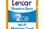 Lexar Shoot-n-Sync WiFi SD Card uses Eye-Fi technology